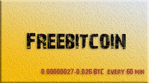 Freebitcoin Faucet